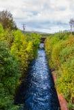 在威廉堡,苏格兰附近的水道 免版税图库摄影