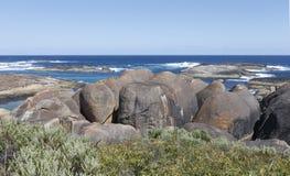 在威廉斯海湾的大象岩石 图库摄影