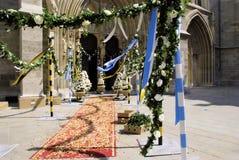 在婚礼之前 免版税图库摄影