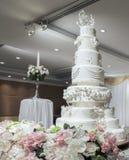 在婚礼的婚宴喜饼 免版税库存照片