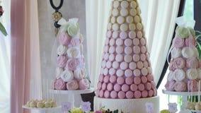 在婚礼的棒棒糖 股票视频