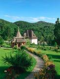 在宁静回忆的修道院 库存照片