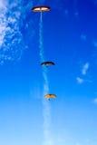 在宁顺省的滑翔伞 免版税图库摄影