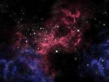 在宇宙的猎户星座 库存例证