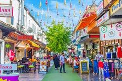 在安塔利亚享受购物 免版税图库摄影