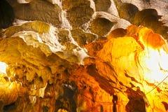 在安塔利亚附近的Karain洞 图库摄影