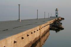 在安大略加拿大的灯塔 免版税图库摄影