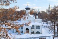 在安娜的构想的教会的看法 图库摄影