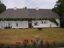 在安特卫普附近的酿酒厂在比利时 免版税库存照片
