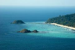 在安达曼海上海岛,泰国 免版税库存图片