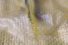在宏观看法的凯夫拉尔纤维 免版税库存图片