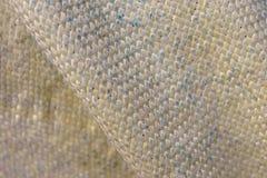 在宏观看法的凯夫拉尔纤维 库存照片