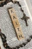 在宗教信仰的信念 库存照片