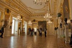 在宫殿皇家华沙里面 免版税图库摄影