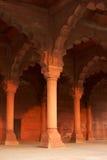 在宫殿红色里面的堡垒 库存照片