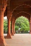 在宫殿红色里面的堡垒 免版税图库摄影