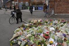 在害怕的COPENHAGEN_NOT的恐怖 图库摄影