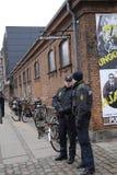 在害怕的COPENHAGEN_NOT的恐怖 免版税库存照片