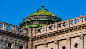 在宾夕法尼亚国会大厦的小圆顶,在哈里斯堡,宾夕法尼亚 库存照片