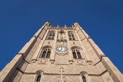 在密苏里大学的纪念联合塔 免版税图库摄影