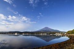 在富士山的早晨在日本 库存照片