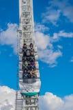 在富士Q高地游乐园的沿海航船 库存图片