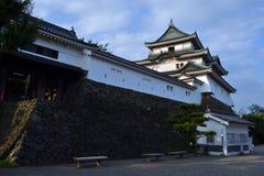 在对和歌山城堡的途中 库存照片