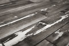在对角线的纹理木板条 图库摄影