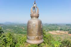 在寺庙泰国的响铃 库存图片