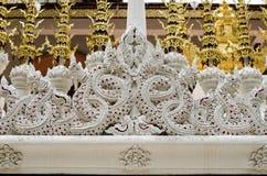 在寺庙泰国的灰泥艺术 库存照片
