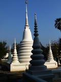 在寺庙泰国附近的曼谷chedi 库存照片