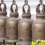 在寺庙的响铃 免版税库存图片