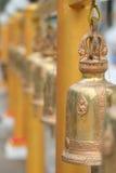 在寺庙的响铃 免版税图库摄影