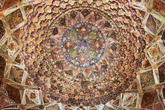 在寺庙的天花板 图库摄影