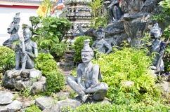 在寺庙的带状闪长岩 图库摄影