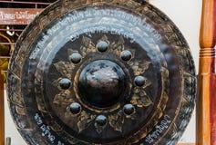在寺庙的教堂钟 库存图片