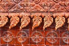 在寺庙的泰国纹理 库存图片
