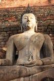 在寺庙的菩萨雕象 图库摄影