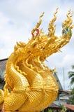 在寺庙的建筑学 库存图片
