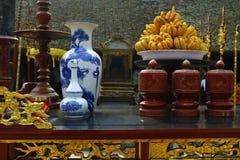 在寺庙的细节 库存图片