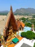 在寺庙的Buddhas 免版税库存照片