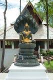 在寺庙的Jatuakarmramathep, Phayao泰国 免版税库存图片