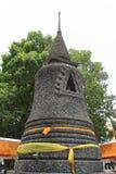 在寺庙的stupa 库存图片