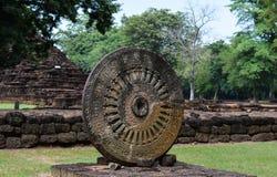 在寺庙的Thammachak 库存图片
