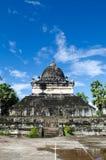 在寺庙,古老寺庙,老挝的艺术。 免版税库存照片