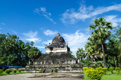 在寺庙,古老寺庙,老挝的艺术。 免版税图库摄影