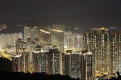 在将军澳的香港大厦 库存图片