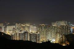 在将军澳的香港大厦 免版税库存照片