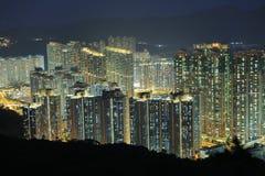 在将军澳的香港大厦 免版税图库摄影
