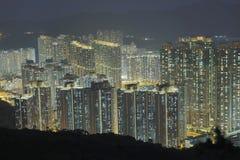 在将军澳的香港大厦 免版税库存图片